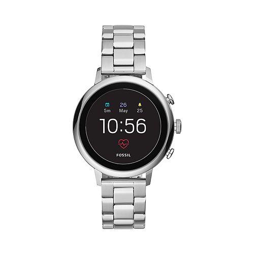 Fossil Women's Q Venture Gen 4 Stainless Steel Smart Watch - FTW6017