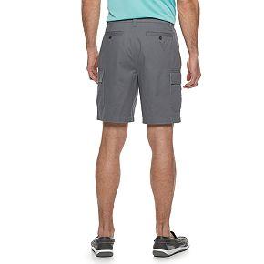 Men's Croft & Barrow® Classic-Fit Flex-Tab 9-inch Twill Cargo Shorts