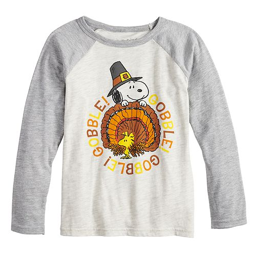 Boys 4-12 Jumping Beans® Peanuts Snoopy & Woodstock Gobble Graphic Tee