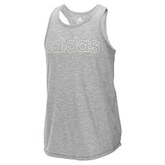 Girls 7-16 adidas Racerback Outline Tank Top