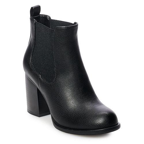 Apt. 9® Sundial Women's High Heel Chelsea Boots