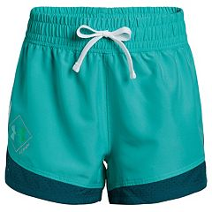 Girls 7-16 Under Armour She Plays We Win Run Shorts