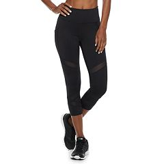 Women's FILA SPORT® Cross Back High-Waisted Capri Leggings