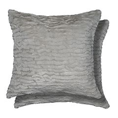 Spencer Home Decor Izze 2-pack Faux Fur Throw Pillow Set