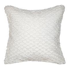 Spencer Home Decor Leslie Faux Fur Oversized Throw Pillow