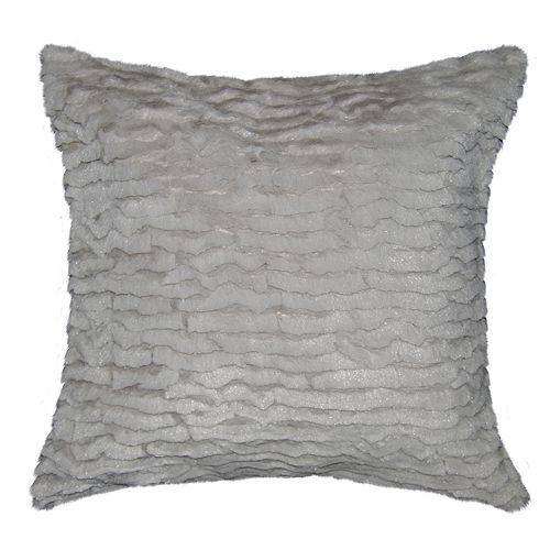 Spencer Home Decor Izze Faux Fur Oversized Throw Pillow