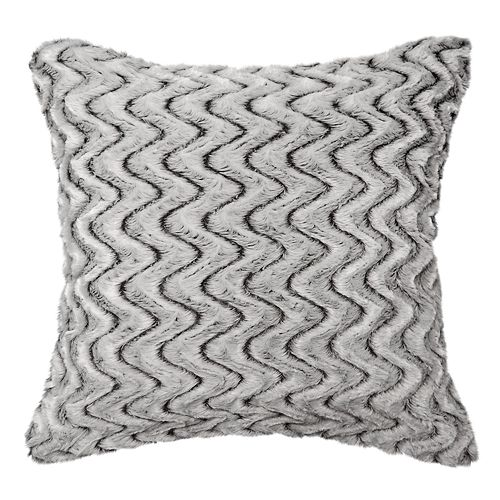Spencer Home Decor Zoe Faux Fur Oversized Throw Pillow