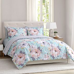Peach & Oak Comforter Set