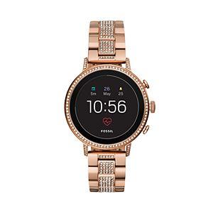Fossil Women's Venture Gen 4 Stainless Steel Smart Watch - FTW6011