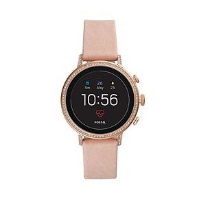 Fossil Women's Venture Gen 4 Leather Smart Watch - FTW6015