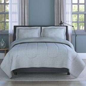 Inspired Surroundings Grid Comforter Set