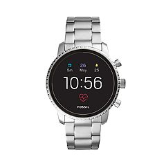 Fossil Men's Q Explorist Gen 4 Stainless Steel Smart Watch - FTW4011