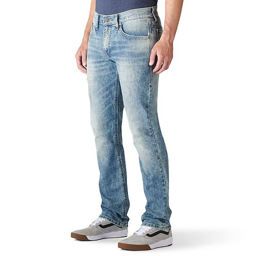 Men's Rock & Republic Force Slim-Fit Straight-Leg Jeans