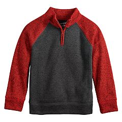 Boys 4-12 Jumping Beans® 1/4 Zip Pullover Raglan Sweater