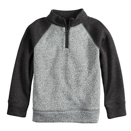 Boys 4-12 Jumping Beans® 1/4 Zip Pullover Raglan Sweater
