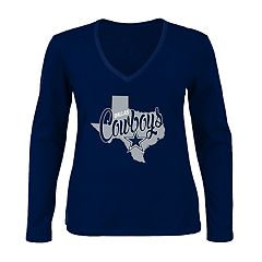 Plus Size Dallas Cowboys State Tee