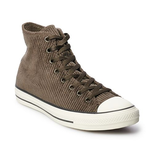 strong packing huge sale 100% top quality Men's Converse Chuck Taylor All Star Corduroy High Top Shoes