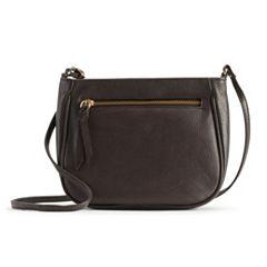 R&R Leather Crossbody Bag