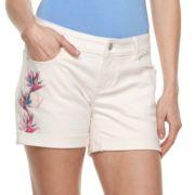 Women's Apt. 9® Cuffed Midrise Jean Shorts