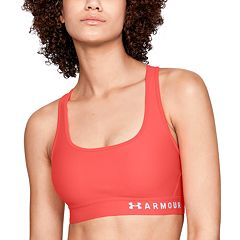 Under Armour Crossback Medium-Impact Sports Bra 1307200 & 1310459