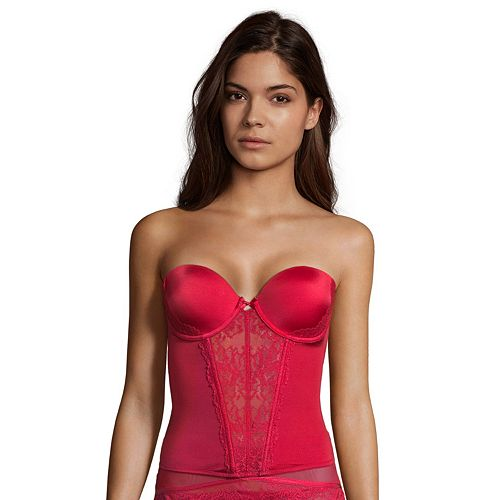 Maidenform Extra Sexy Floral Lace Bustier