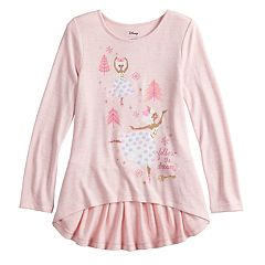 Disney's The Nutcracker and the Four Realms Girls 4-10 Ballerina Graphic Top by Jumping Beans®