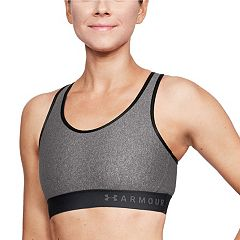 Under Armour Mid Keyhole Back Medium-Impact Sports Bra 1307196 & 1310458