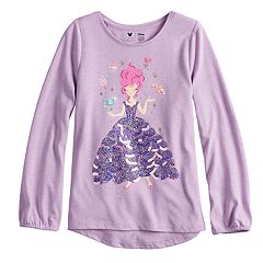 Disney's The Nutcracker and the Four Realms Girls 4-10 Embellished Ballerina Graphic Top by Jumping Beans®