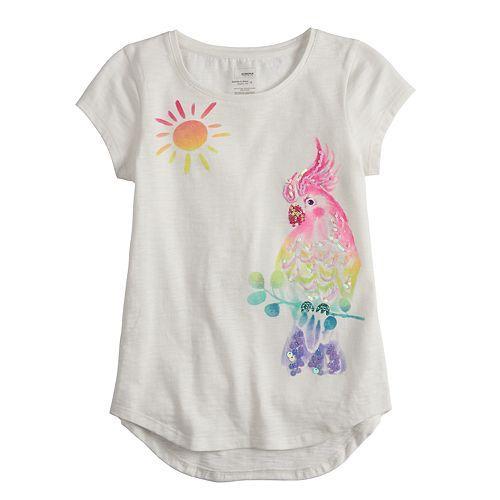 Girls 4-12 SONOMA Goods for Life® Embellished Slubbed Tee