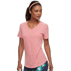 Women's Tek Gear® Essential V-Neck Short Sleeve Tee