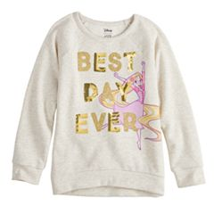 Disney's Rapunzel Toddler Girl 'Best Day Ever' Glitter & Sequin Graphic Pullover by Jumping Beans®