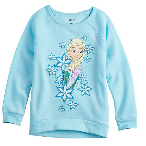 Disney's Frozen Elsa Toddler Girl Flip-Sequin Graphic Pullover by Jumping Beans®