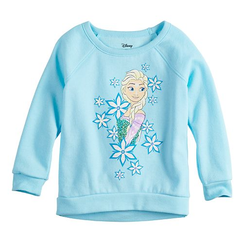 Disney's Frozen Elsa Girls 4-10 Flip-Sequin Graphic Pullover by Jumping Beans®
