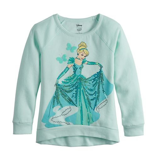 Disney's Cinderella Toddler Girl Sequin Sweatshirt by Jumping Beans®