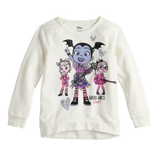 Toddler Girl Jumping Beans® Vampirina High-Low Hem Pullover