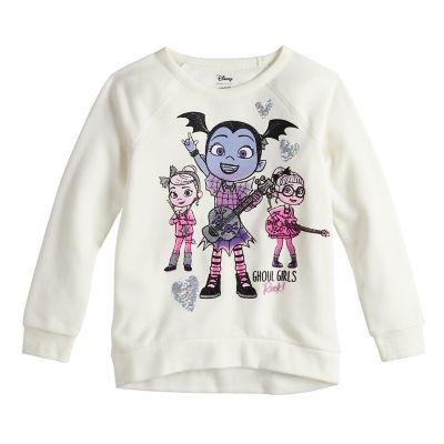Girls 4-10 Jumping Beans® Vampirina High-Low Hem Pullover