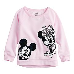 Disney's Mickey & Minnie Mouse Toddler Girl Sequined Graphic Pullover by Jumping Beans®