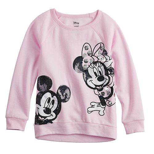Disney's Mickey & Minnie Mouse Girls 4-10 Flip-Sequin Graphic Pullover by Jumping Beans®