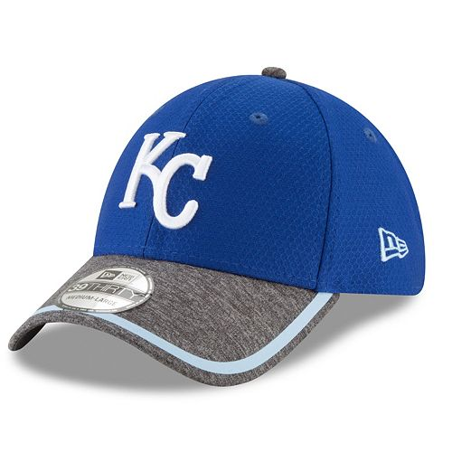 Adult New Era Kansas City Royals 39THIRTY Tinted Trim Flex-Fit Cap