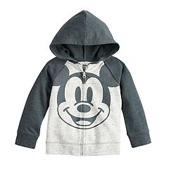 Disney's Mickey Mouse Baby Boy Raglan Zip Hoodie by Jumping Beans®