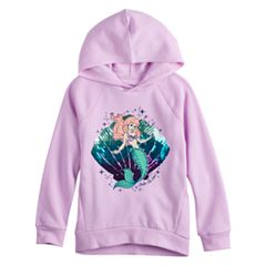 Disney's The Little Mermaid Ariel Toddler Girl Sequined Graphic Hoodie by Jumping Beans®