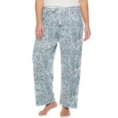Womens Pajama Bottoms Kohl S