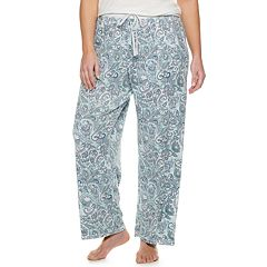 Plus Size Croft & Barrow® Whisper Luxe Pajama Pants