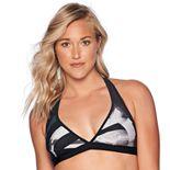 Women's Reebok Bold Dynamic Mesh Bikini Top