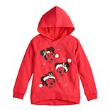 Disney's Minnie Mouse Girls 4-10 Christmas Hooded Pullover by Jumping Beans®