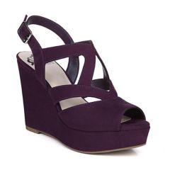 Womens Purple Wedges Shoes Kohls