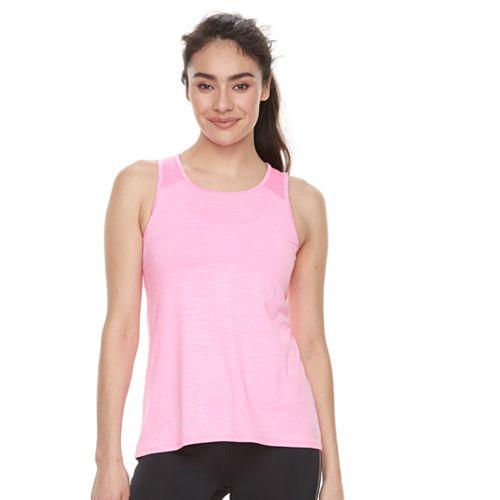 Women's FILA SPORT® Melange Mesh Inset Tank