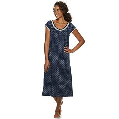 Petite Croft & Barrow® Long Raglan Nightgown