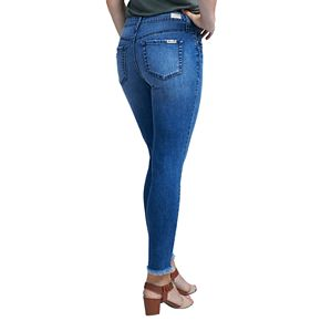 Women's Seven7 Signature Embroidered Midrise Skinny Jeans