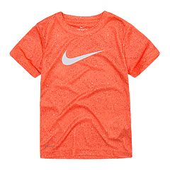 Boys 4-7 Nike Blacktop Speckled Swoosh Logo Graphic Tee